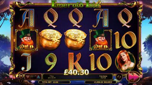Win in online pokie Emerald Isle by Nextgen