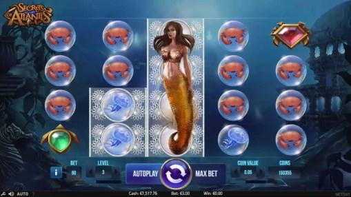 Online pokie for money Secrets of Atlantis by Netent