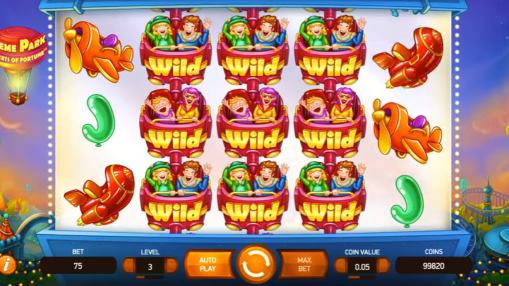 Mobile pokie Theme Park Tickets of Fortune for real money by NetEnt