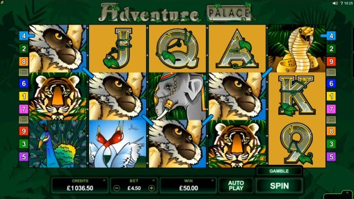 Pokie Adventure Palace