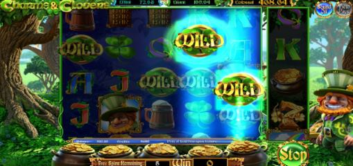Online slot for money Charms and Clovers by Betsoft