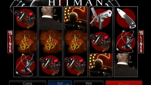 Pokie Hitman by Microgaming