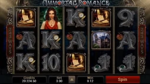 Pokie Immortal Romance for money