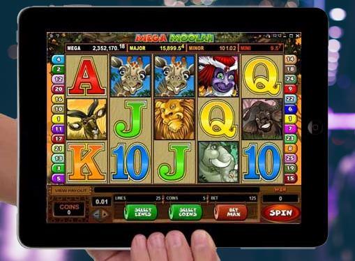 iPad pokies for money