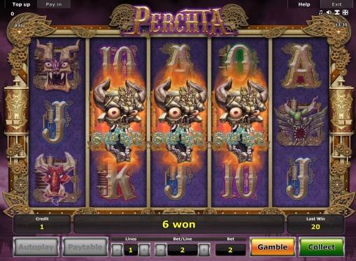 Online pokie Perchta by Novomatic for real money