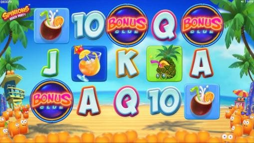 Real money mobile slot Spinions Beach Party is released by Quickspin