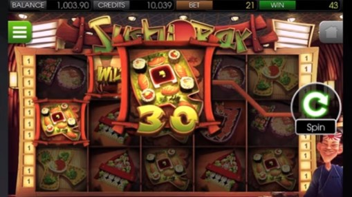 Pokie Sushi Bar by BetSoft