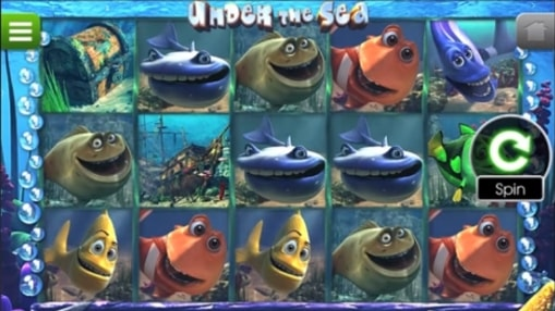Real money pokie Under the Sea by BetSoft
